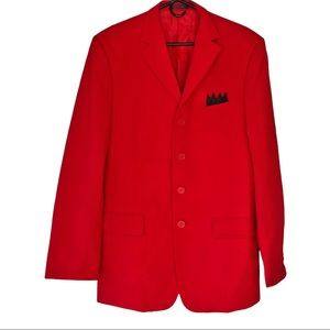 Red Suit Two Pants Costume/Prom Size 40L